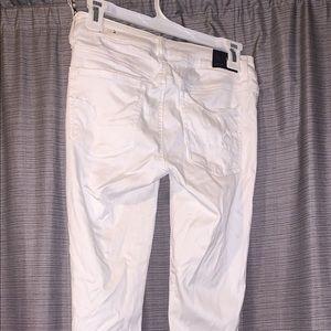 White AE Super Stretch Jeans